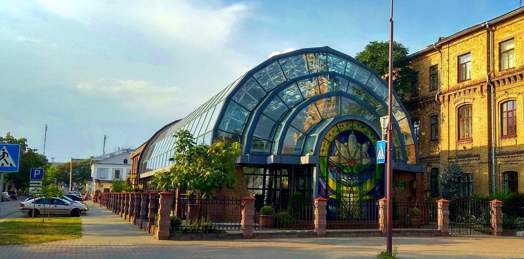 Ботанический сад в Бресте