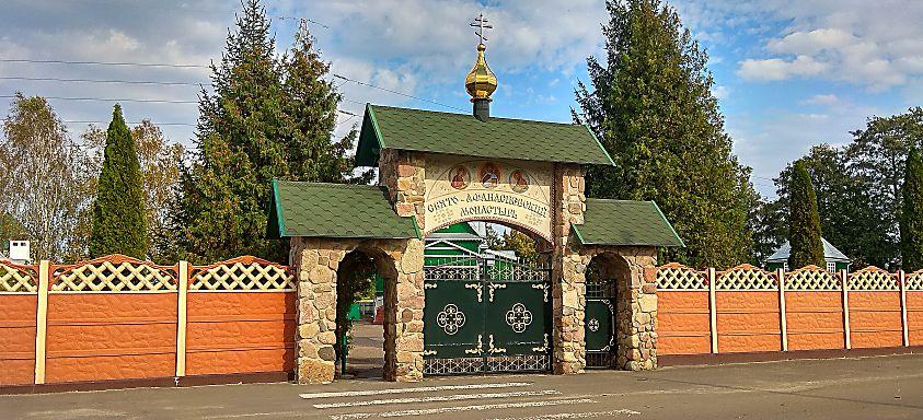 Православные монастыри Бреста. Свято-Афанасьевский мужской монастырь