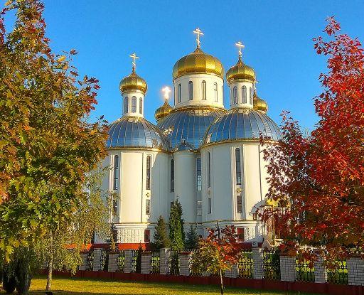 Воскресенский собор. Одна из красивейших церквей епархии.
