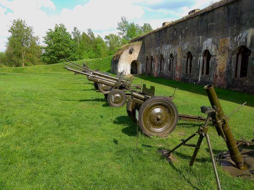 Артиллерийская техника времен ВОВ