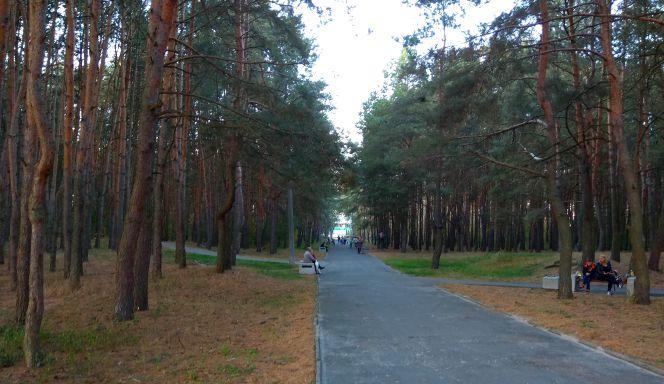 Парк воинов интернационалистов в Бресте