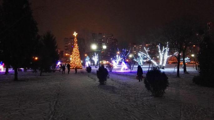 Парк Мира в Бресте